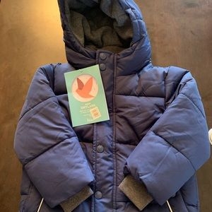 Mini Boden Bot Winter Coat size 2-3Y